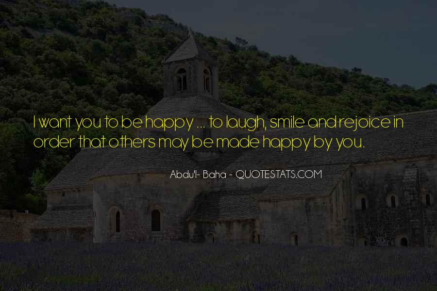 Quotes About Smile Be Happy #1154517