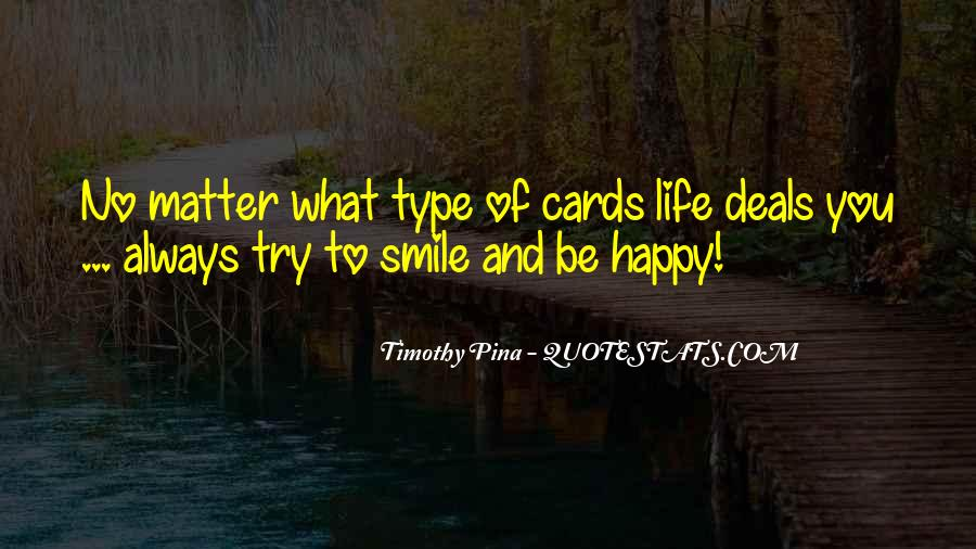 Quotes About Smile Be Happy #1428525