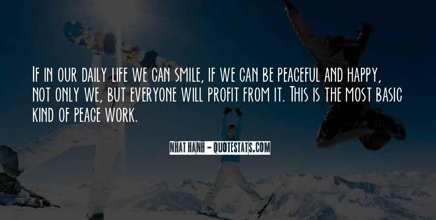 Quotes About Smile Be Happy #1759414