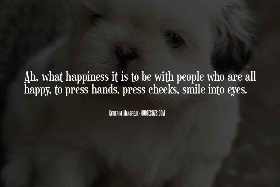 Quotes About Smile Be Happy #670486