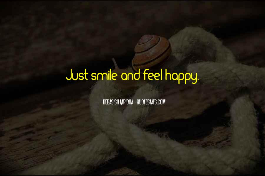 Quotes About Smile Be Happy #972451