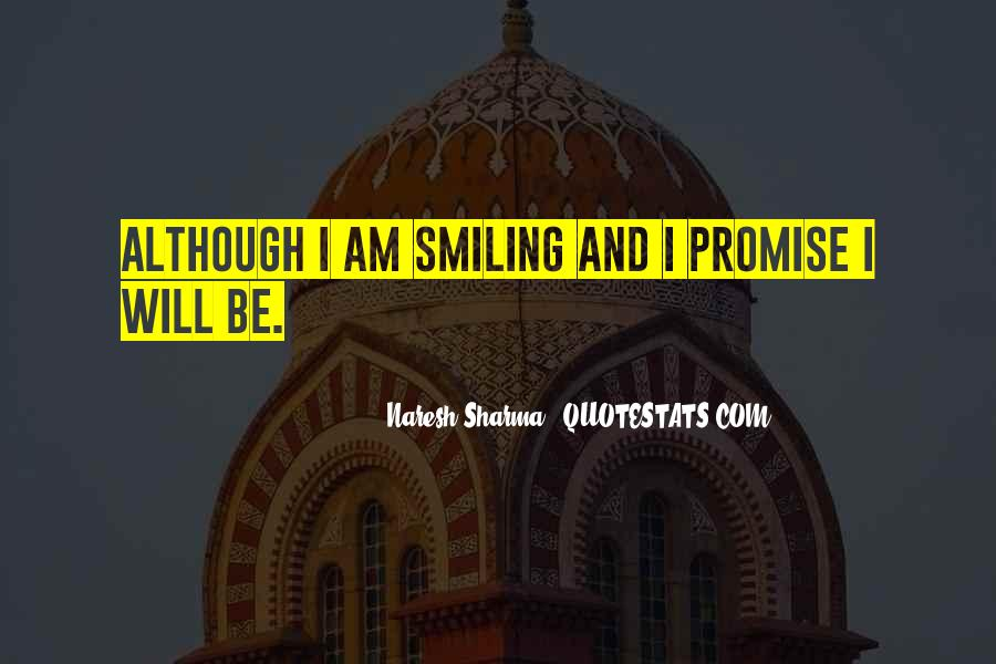 Quotes About Smile Be Happy #982057