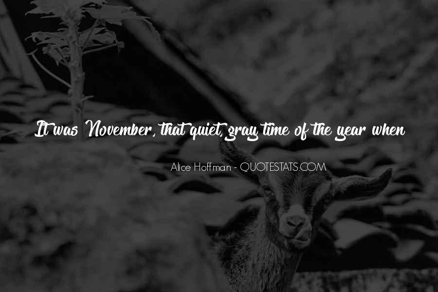 November's Quotes #1344114