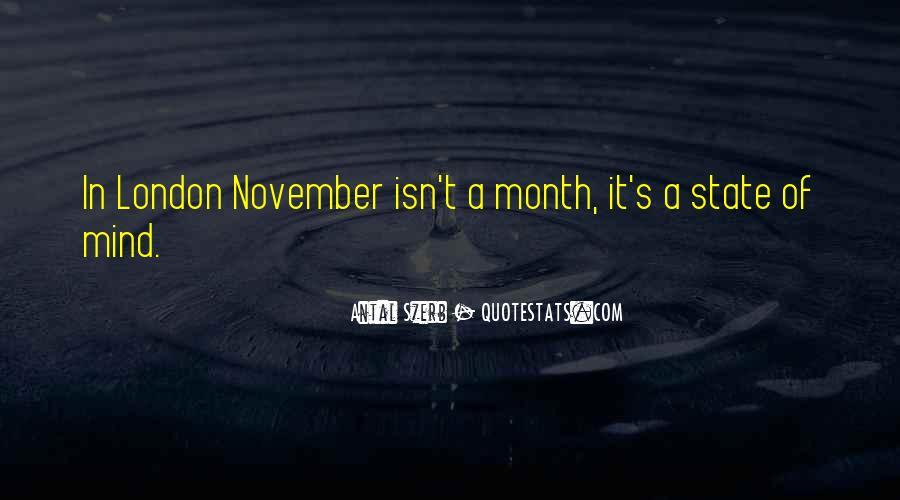 November's Quotes #1472723