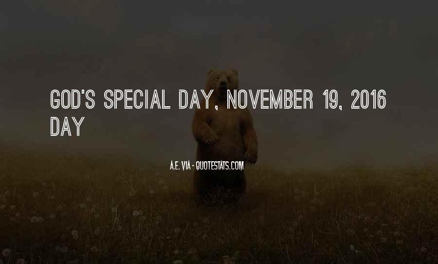 November's Quotes #1588294