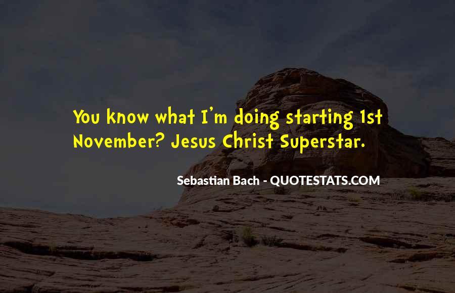 November's Quotes #84673