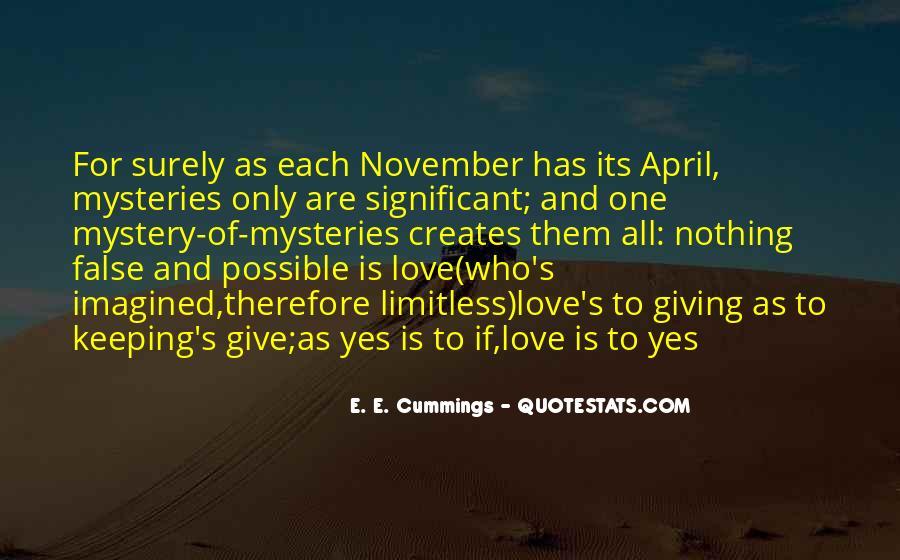 November's Quotes #925607