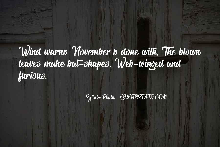 November's Quotes #974326