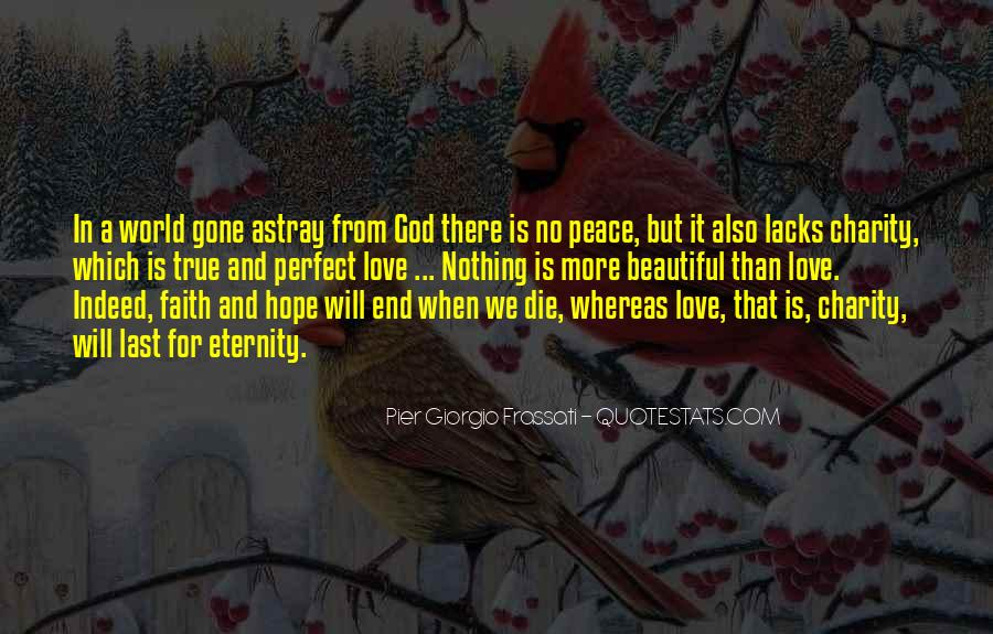Quotes About True Love God #1031941