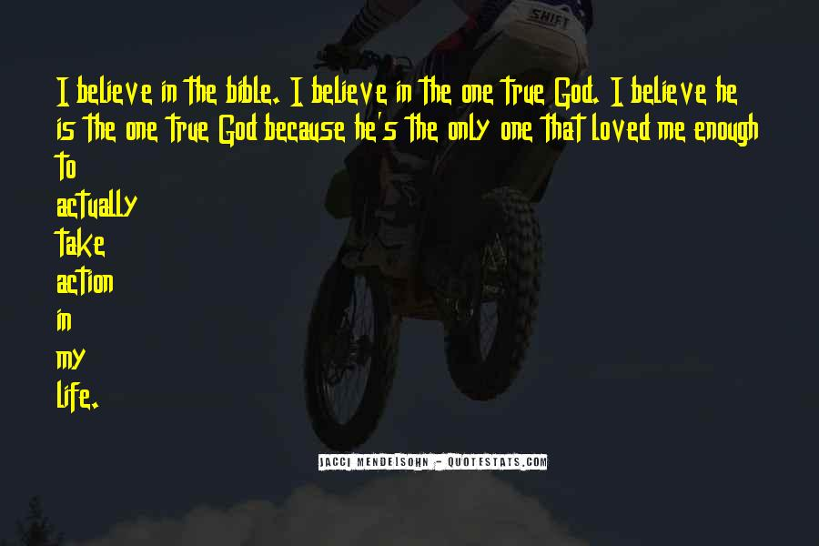 Quotes About True Love God #319155