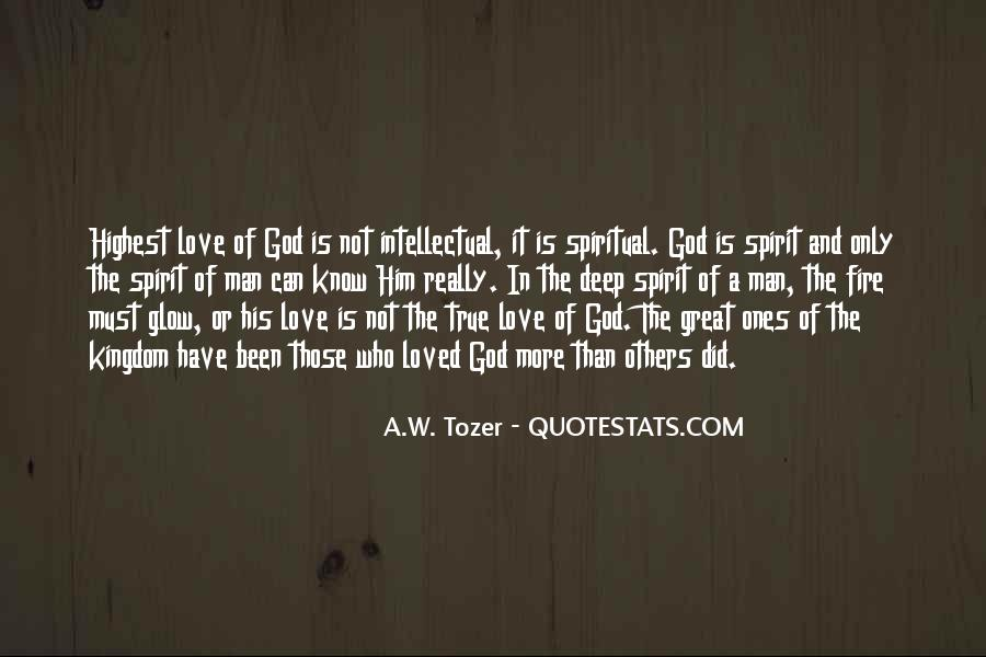 Quotes About True Love God #372898