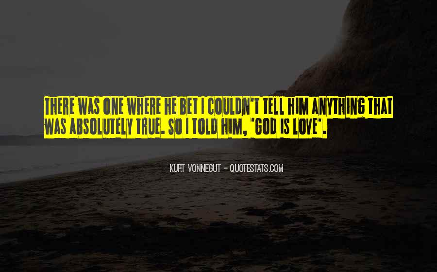 Quotes About True Love God #468767