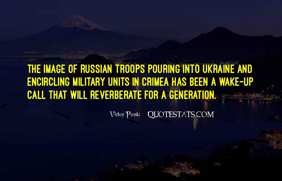 Quotes About Military Units #1034307
