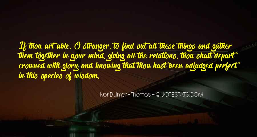 O'things Quotes #137453
