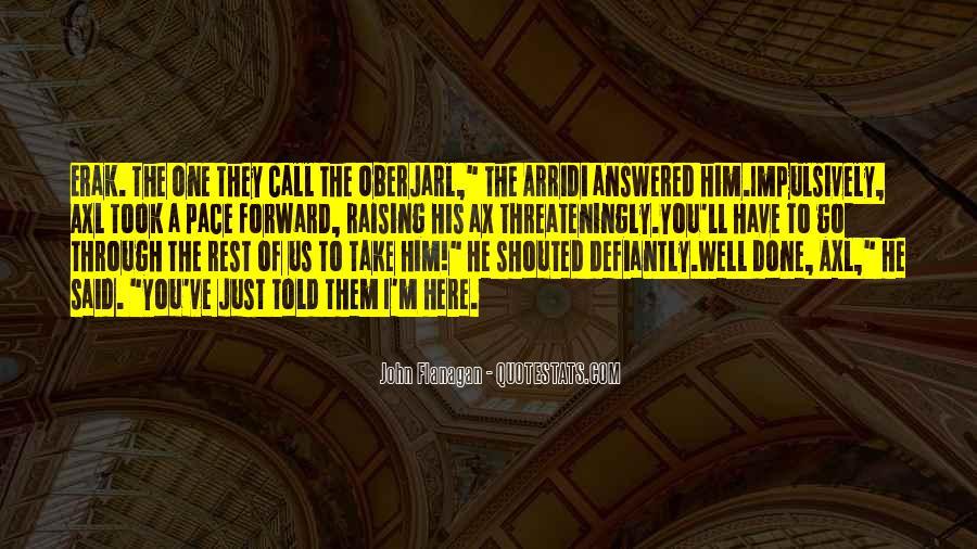 Oberjarl Quotes #1855048