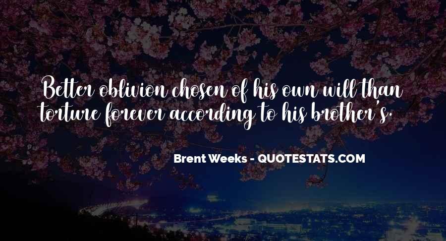 Oblivion's Quotes #1005922