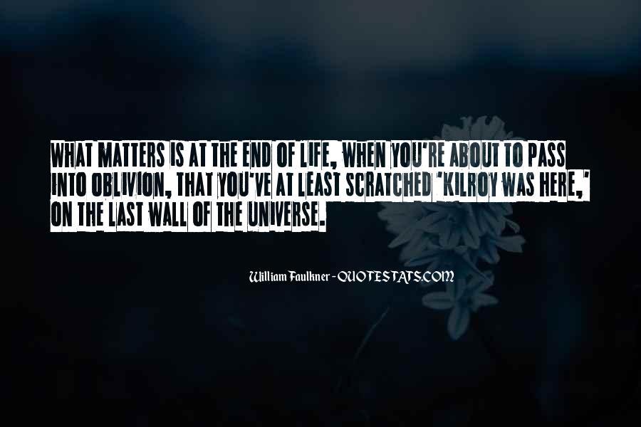 Oblivion's Quotes #11726