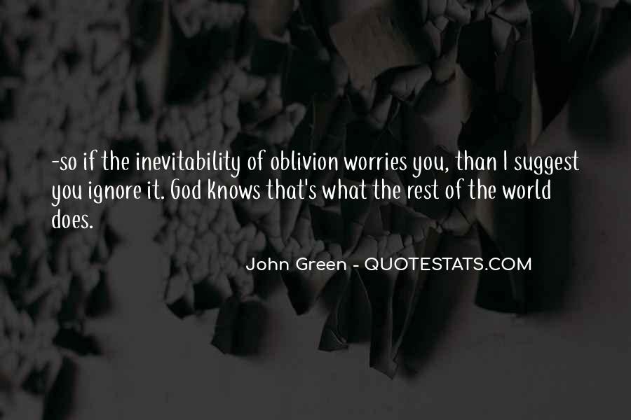 Oblivion's Quotes #154548