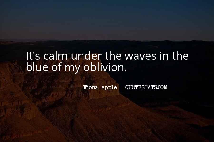 Oblivion's Quotes #1819652