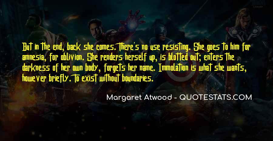 Oblivion's Quotes #237765