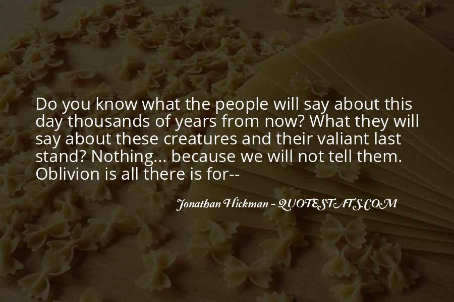 Oblivion's Quotes #50038