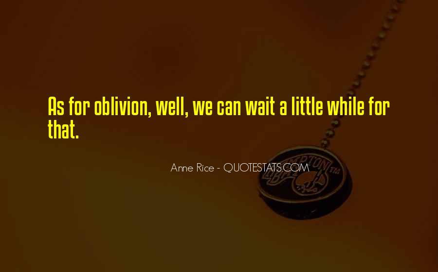 Oblivion's Quotes #5359