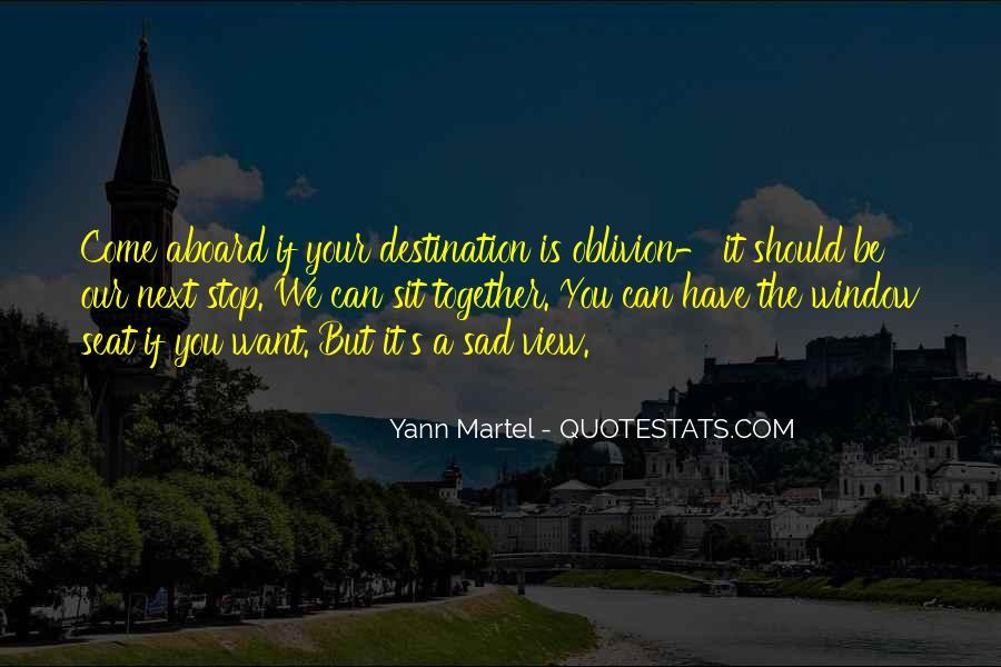 Oblivion's Quotes #863305