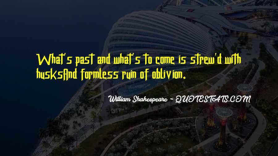 Oblivion's Quotes #899561