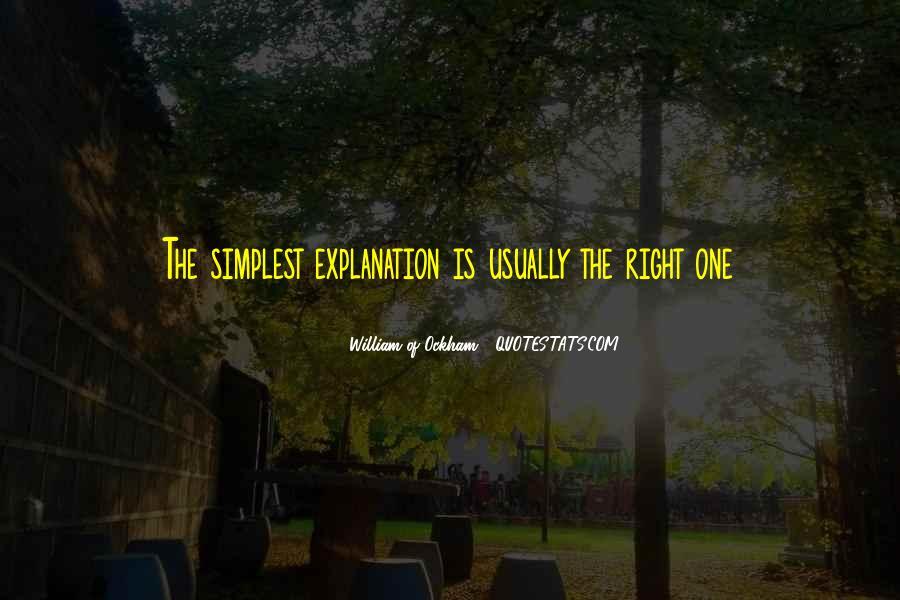 Ockham's Quotes #1081494