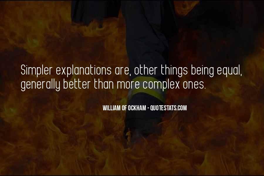 Ockham's Quotes #1117493