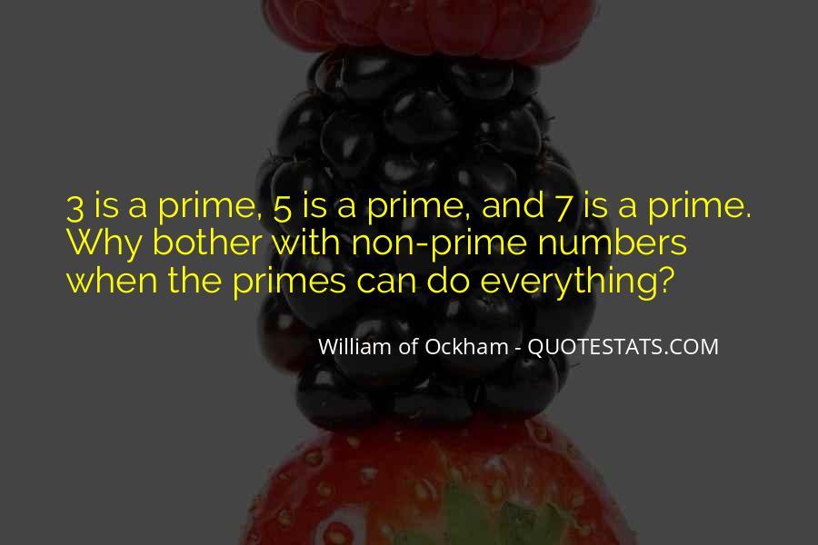 Ockham's Quotes #1149072
