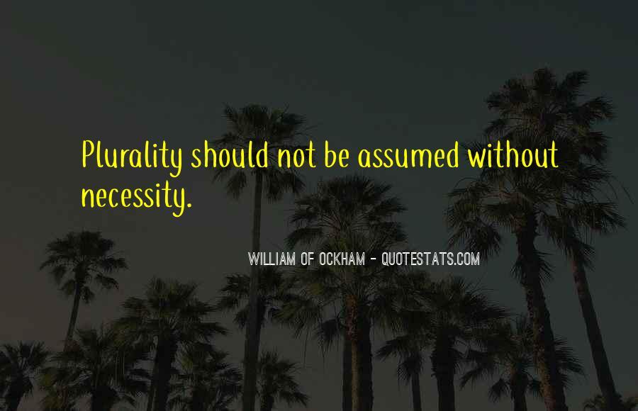 Ockham's Quotes #1196170