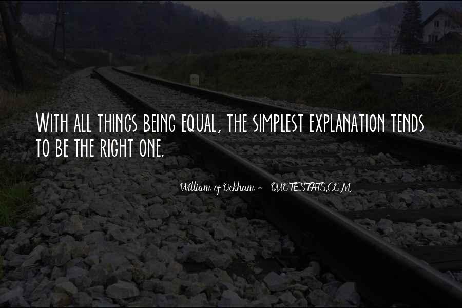 Ockham's Quotes #1239653