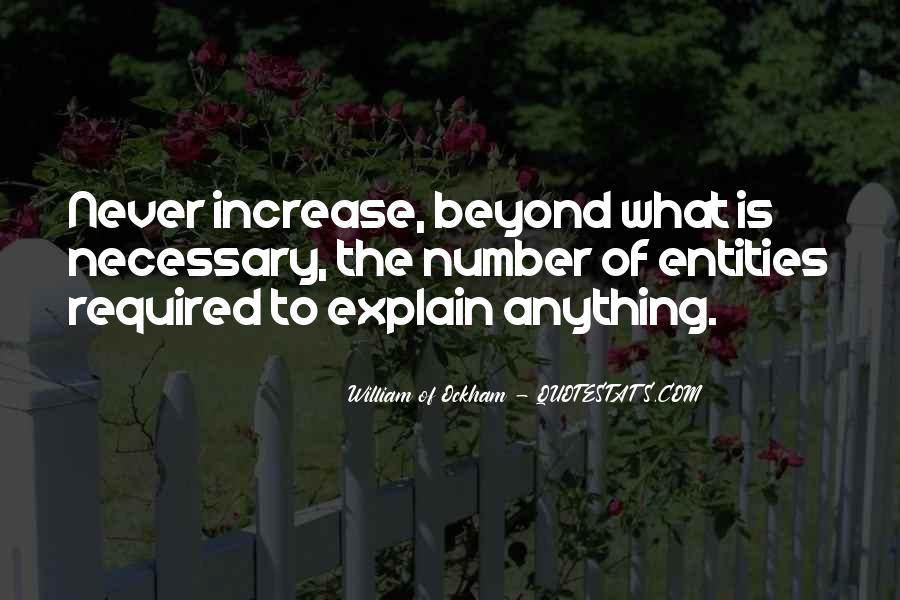 Ockham's Quotes #1521137