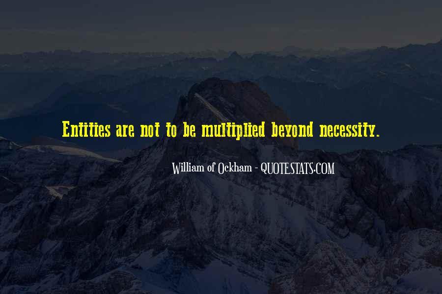 Ockham's Quotes #1585102