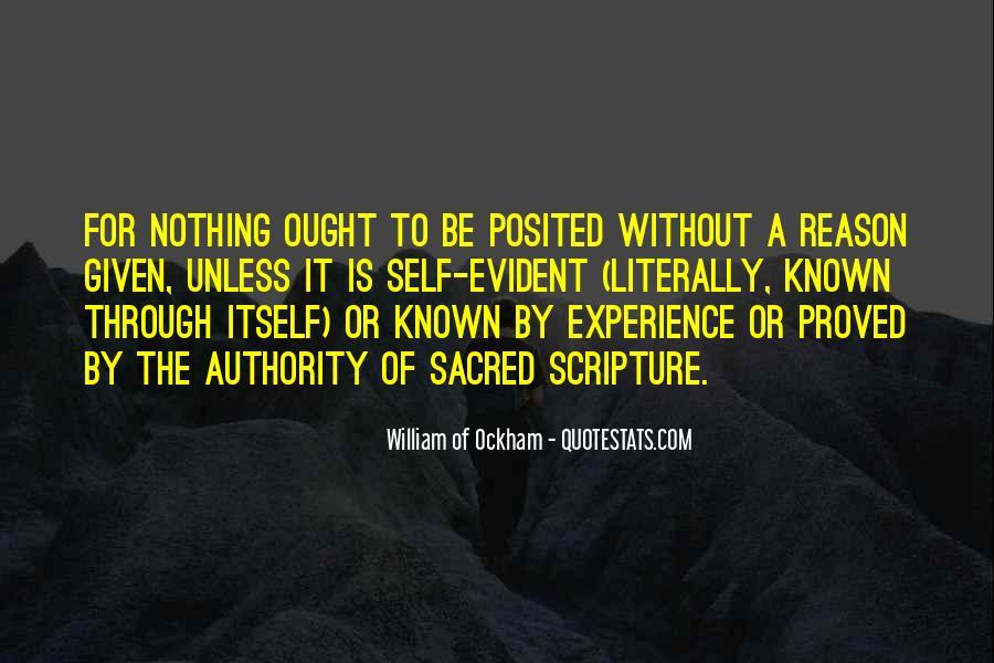Ockham's Quotes #1798456