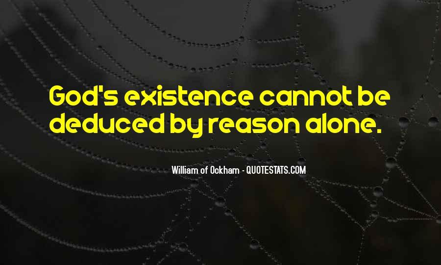 Ockham's Quotes #1821314