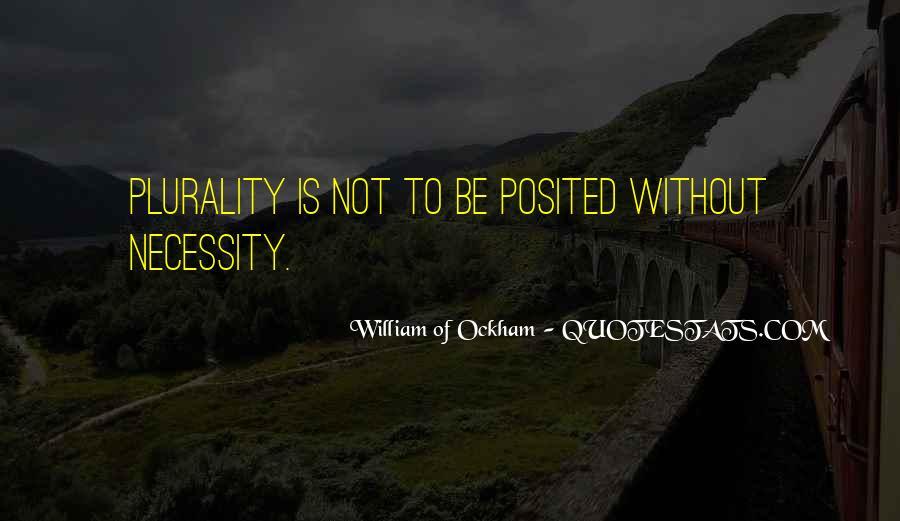 Ockham's Quotes #1825926