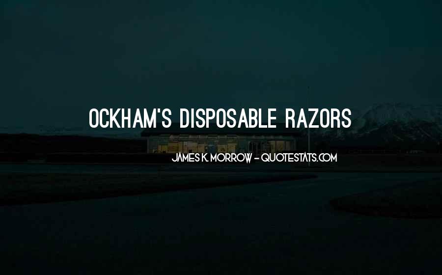 Ockham's Quotes #20313