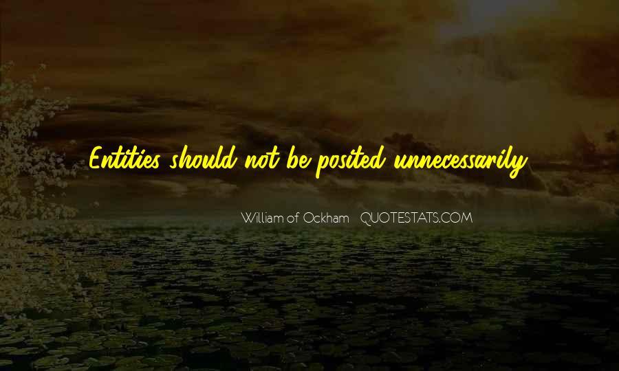 Ockham's Quotes #209900
