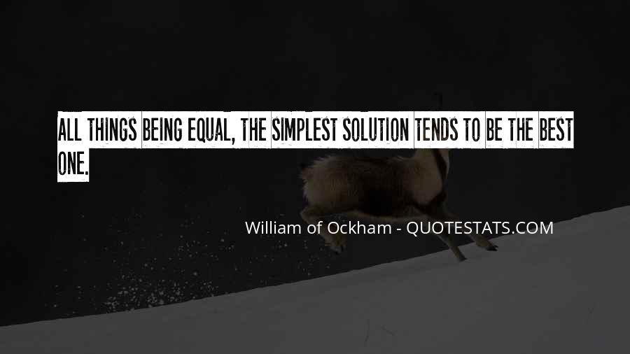 Ockham's Quotes #222671
