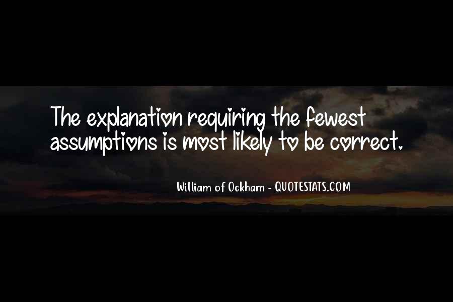 Ockham's Quotes #255265