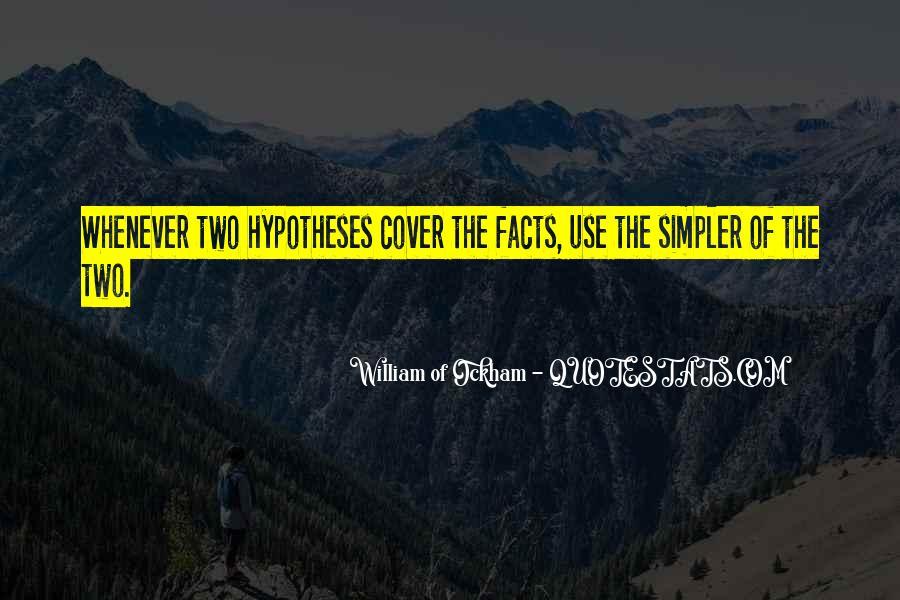 Ockham's Quotes #336238