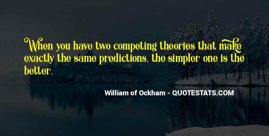 Ockham's Quotes #492964