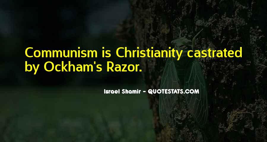 Ockham's Quotes #595734
