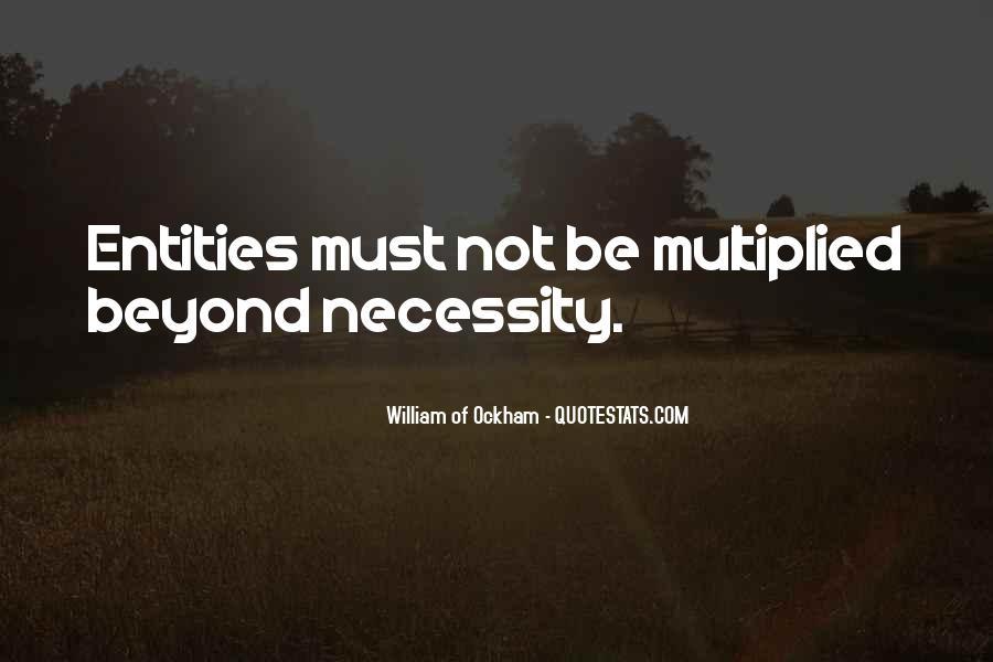Ockham's Quotes #719839