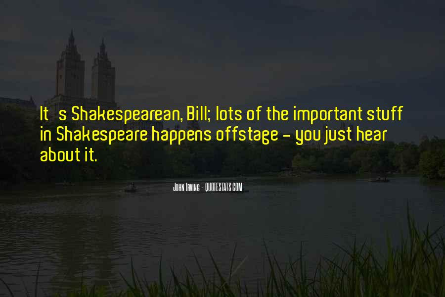 Offstage Quotes #1877502