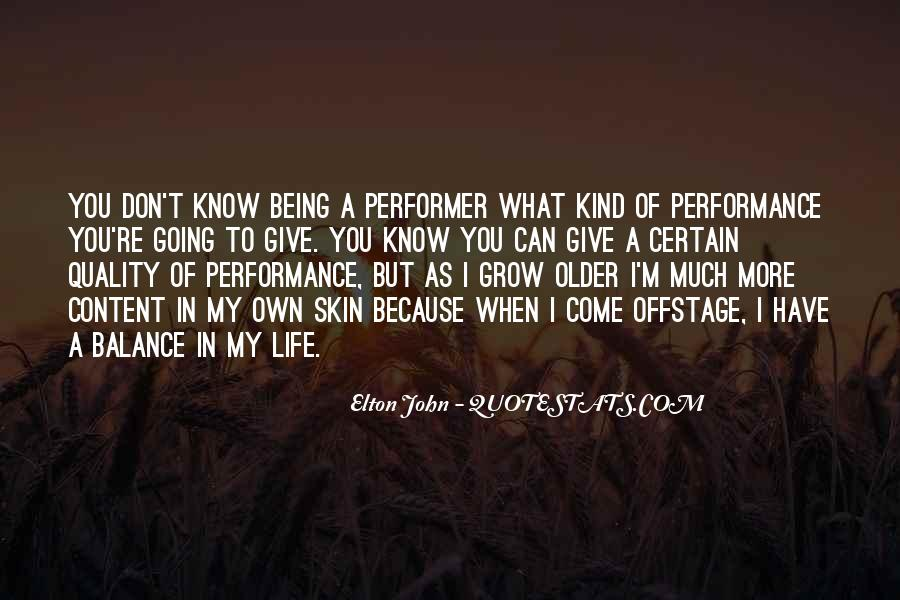Offstage Quotes #730193
