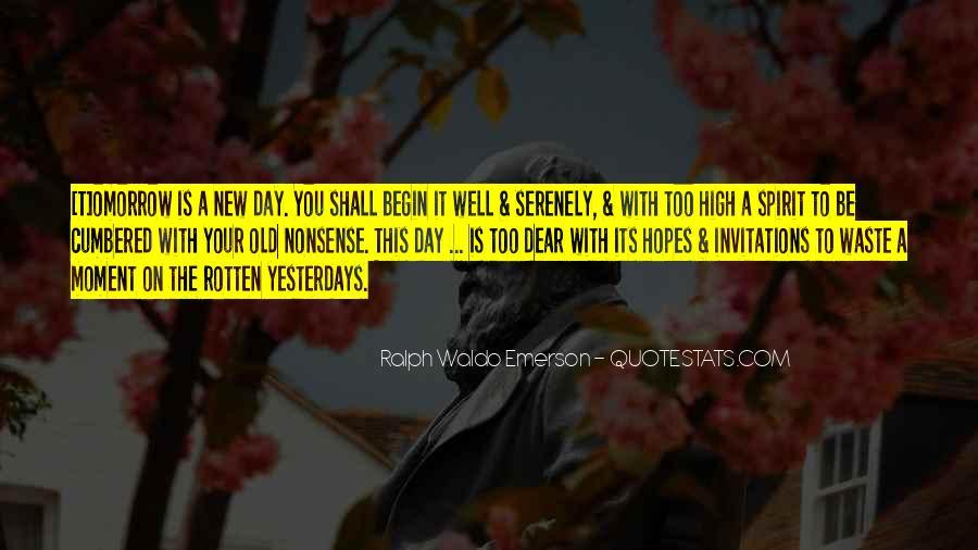 Omorrow Quotes #1153362