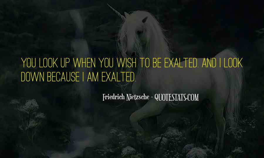Quotes About Exalted #421131